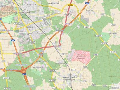 Landkarte OpenStreetMap