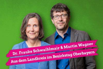 Frauke Schwaiblmair und Martin Wagner