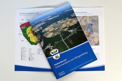 Dokumentationsbroschüre Bürgerdialog