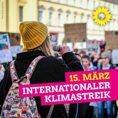 15. März internetionaler Klimastreik