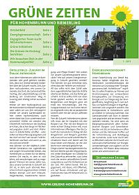 Grüne Zeiten für Hohenbrunn und Riemerling