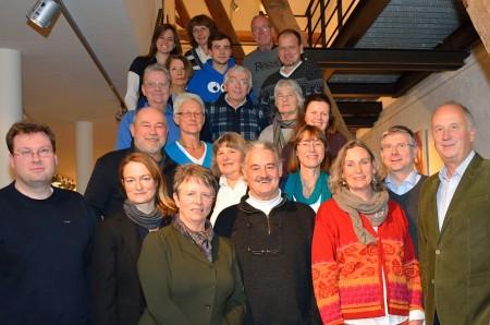 Foto: Kandidierende zur Kommunalwahl 2014