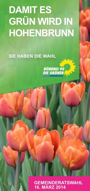 """Flyer """"Damit es GRÜN wird in Hohenbrunn"""" (2)"""