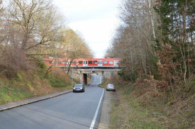 Unterführung Luitpoldstraße von Westen