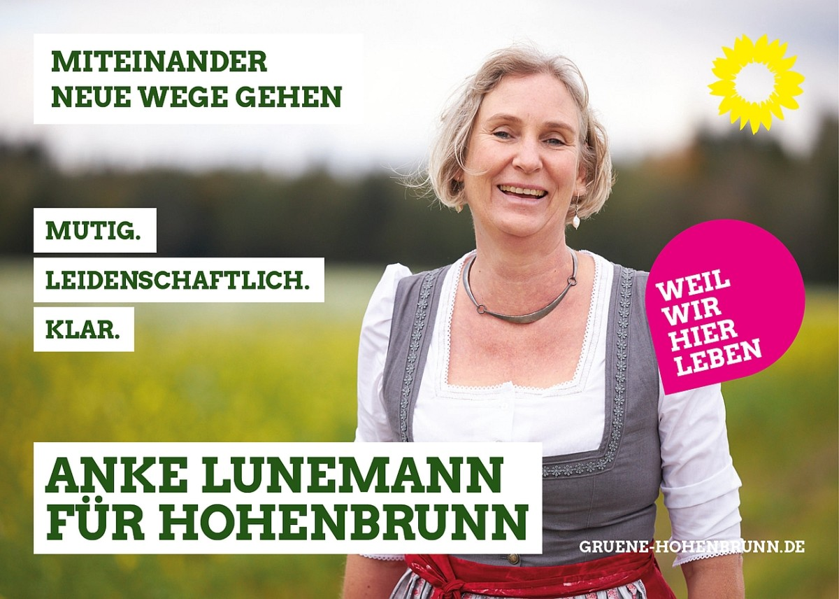 Anke Lunemann, Bürgermeisterin für Hohenbrunn