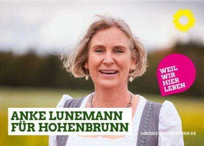 Anke Lunemann für Hohenbrunn