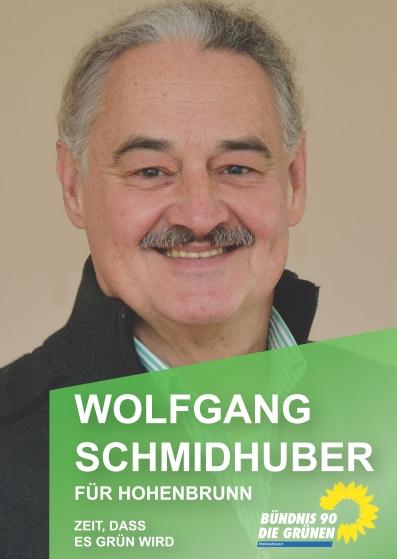 Postkarte Wolfgang Schmidhuber