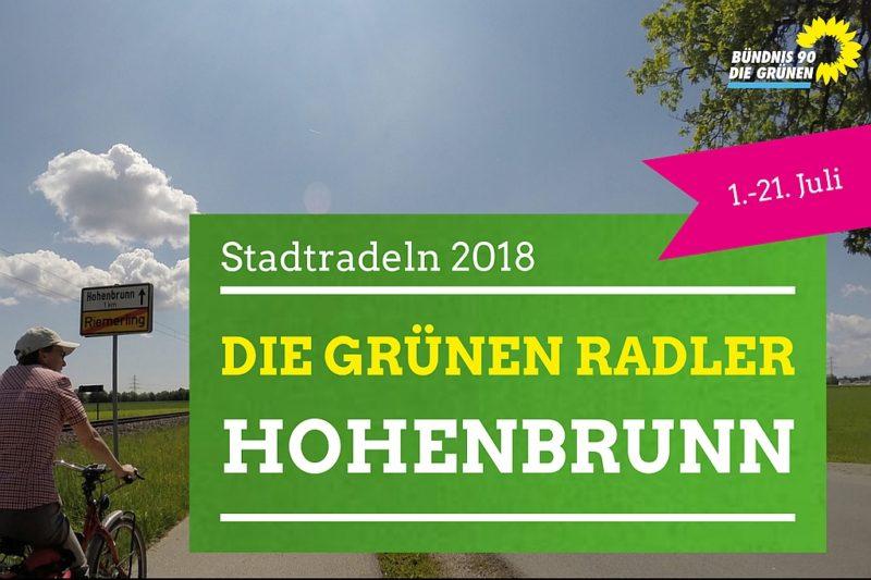 Logo Die GRÜNEN Radler Hohenbrunn