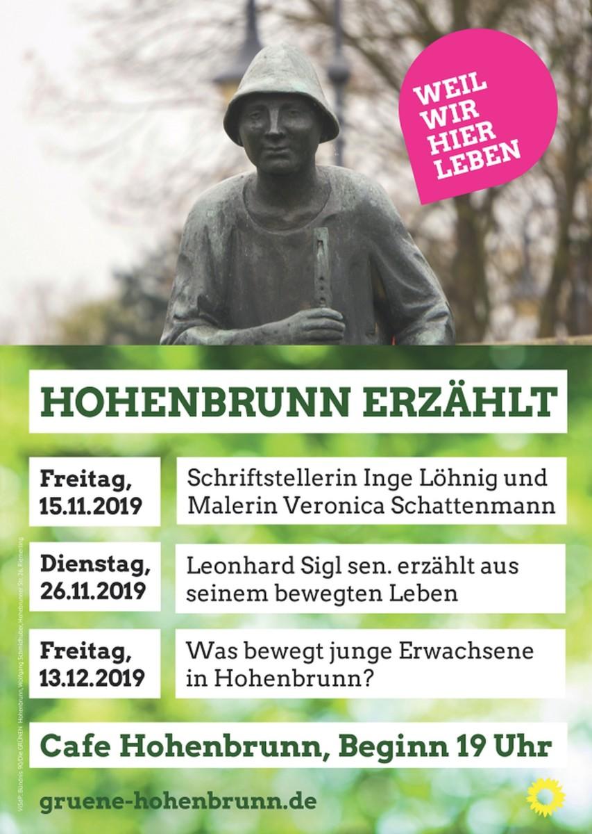 Plakat Hohenbrunn erzählt