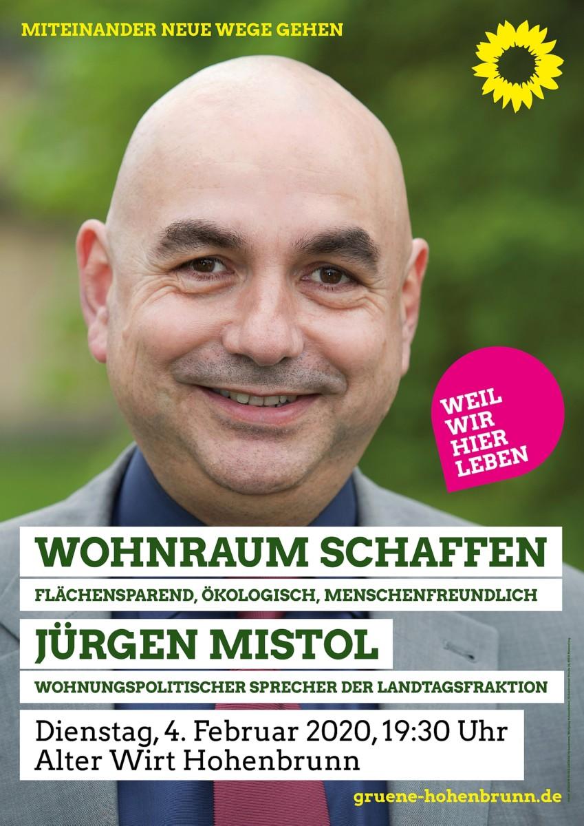 Plakat Jürgen Mistol