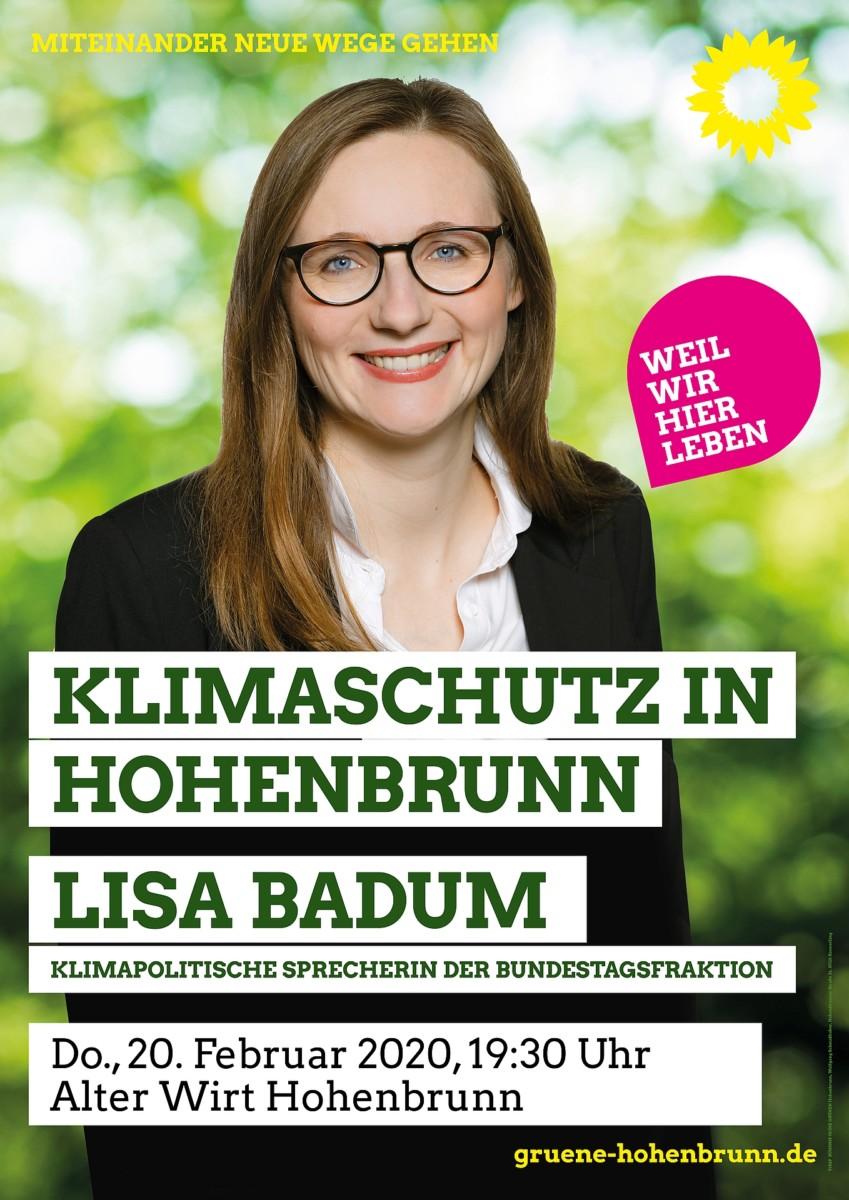 Plakat Lisa Badum