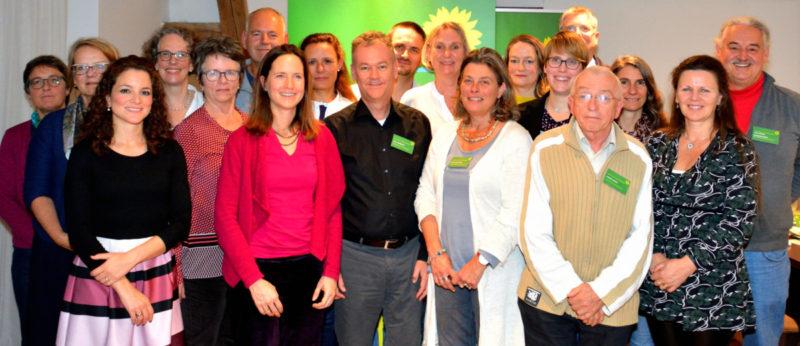 Gruppenfoto Kandidierende