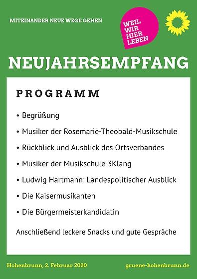 Programm Neujahrsempfang