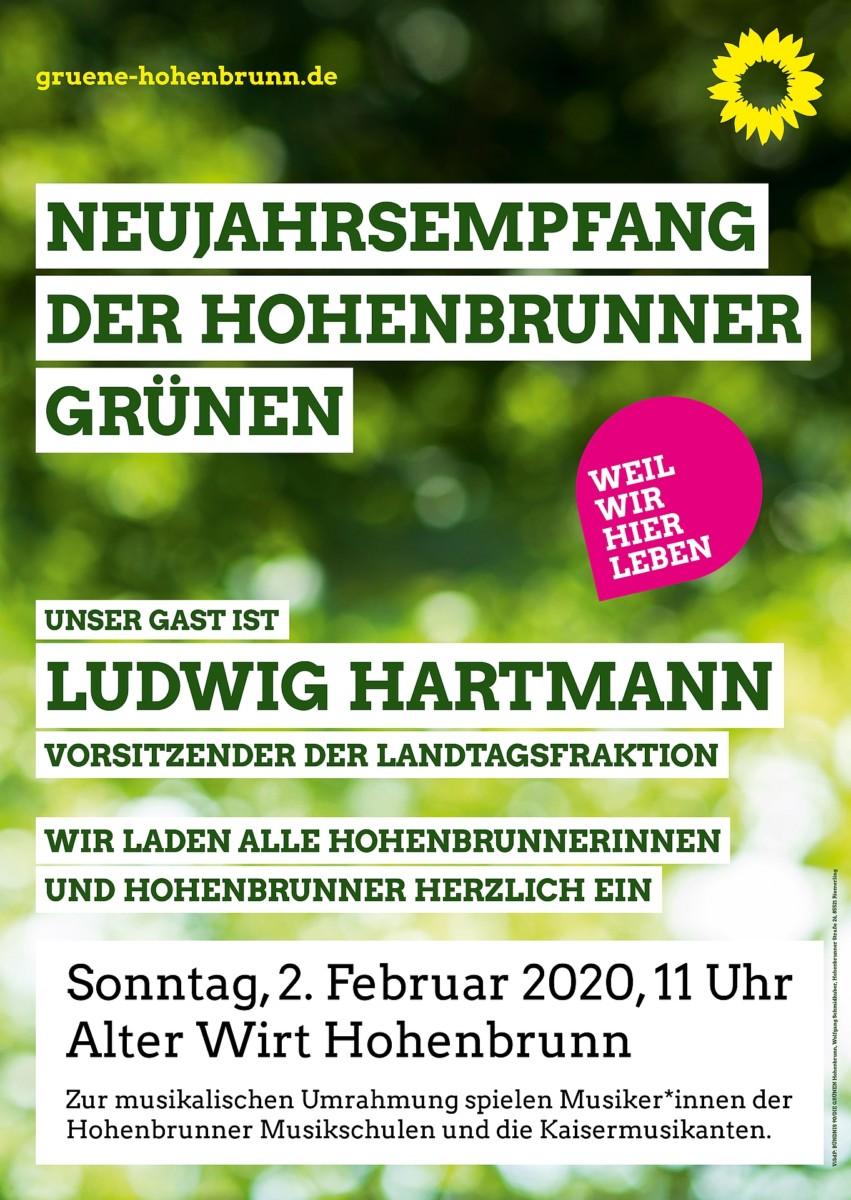 Plakat Neujahrsempfang 2020