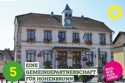 Eine Gemeindepartnerschaft für Hohenbrunn