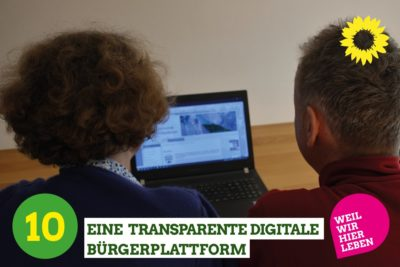 Eine transparente digitale Bürgerplattform