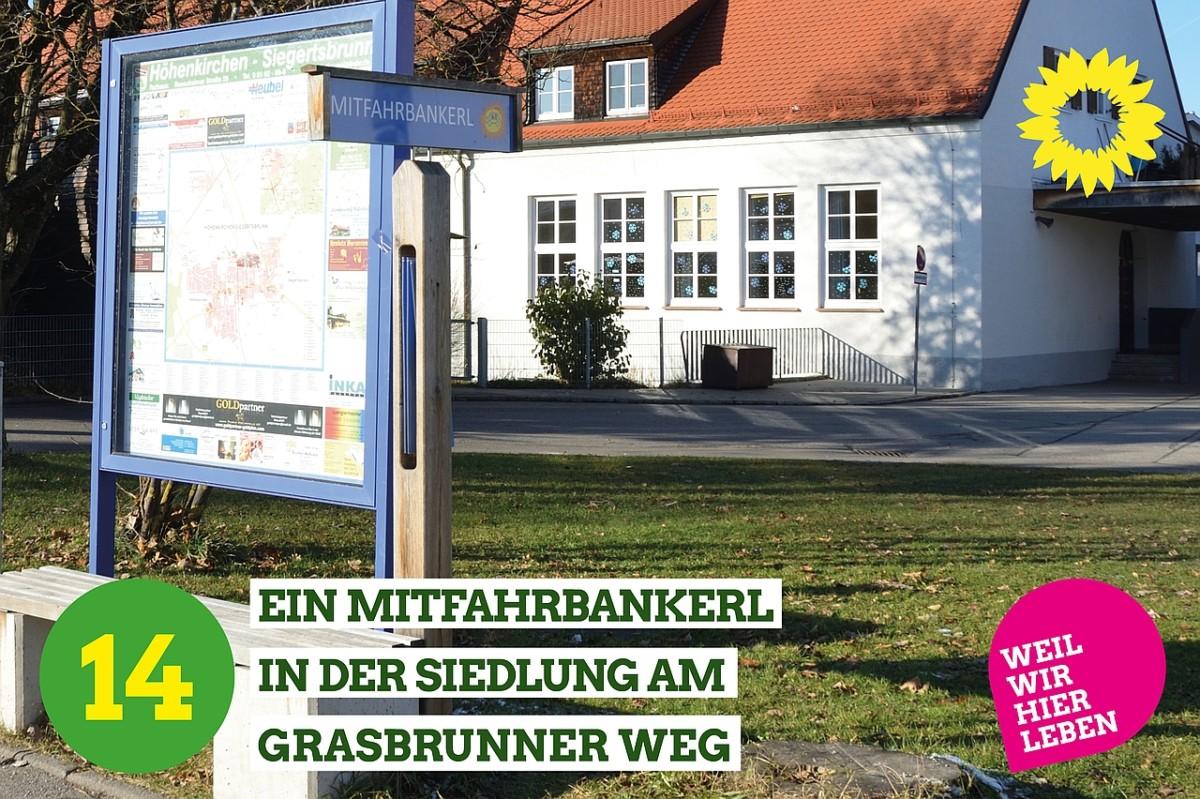 Mitfahrbankerl in Höhenkirchen