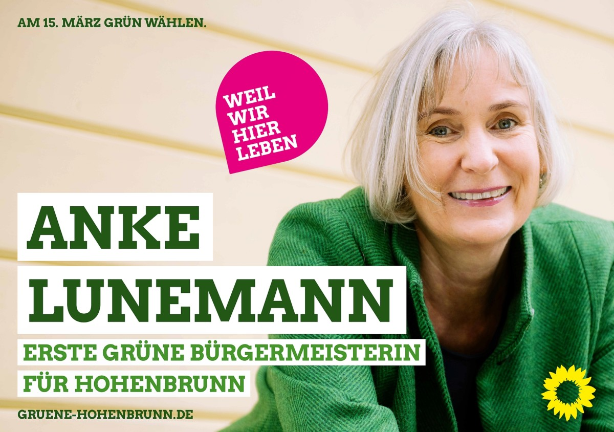Anke Lunemann - Bürgermeisterin für Hohenbrunn