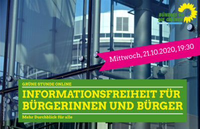 Informationsfreiheit Sharepic