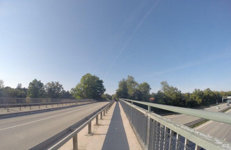 Engstelle auf der Brücke