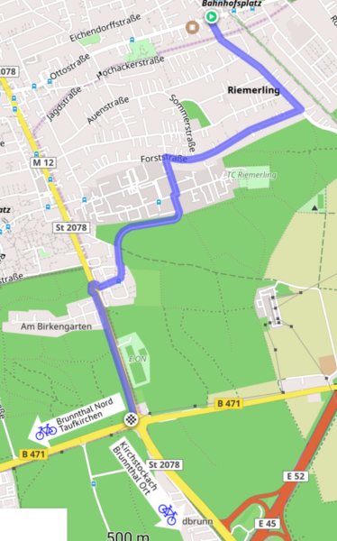 Riemerling West - Rosenheimer Landstraße/B471