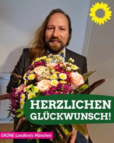 Glückwunsch an Toni Hofreiter