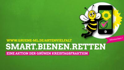 Banner Smart.Bienen.Retten