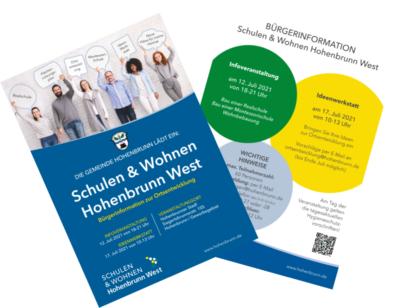Prospekt Buergerinfo Schule Wohnen