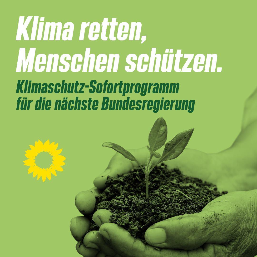 Klimaschutz Sofortprogramm
